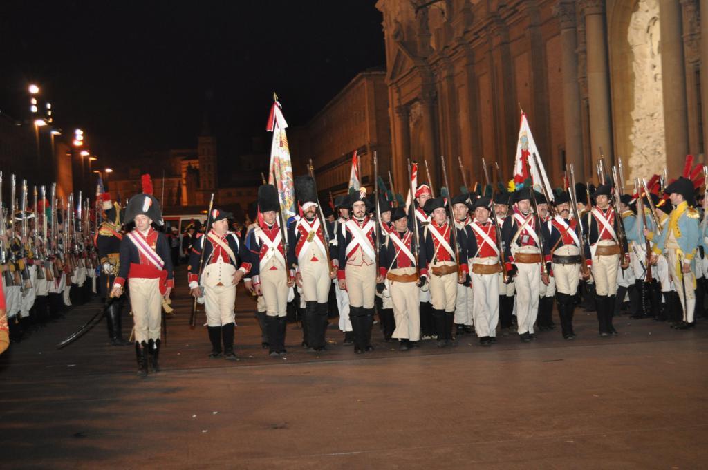 Bandera Voluntarios de Aragón