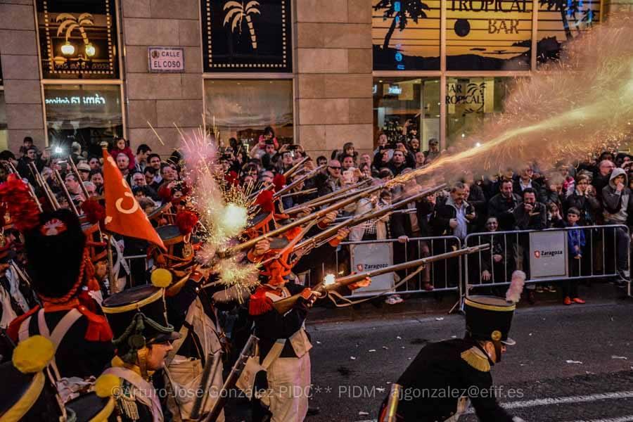 Combates en las calles de Zaragoza