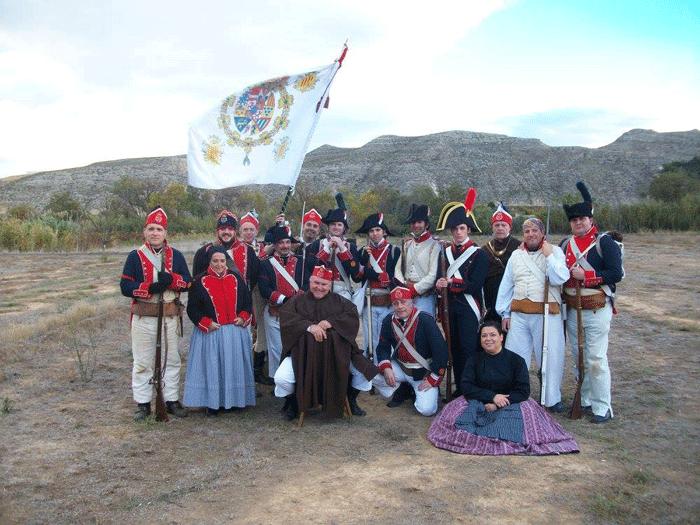 Instrucción en Cadrete Voluntarios de Aragón