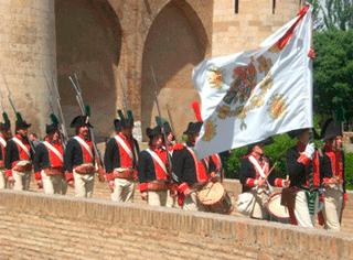 Relevo de la guardia La Aljafería (2010)