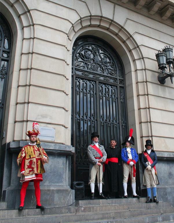 Cnemoración de la Jura de la Constitución de 1812 en Zaragoza